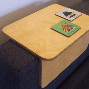 armlehne für sofa, multiplex birke